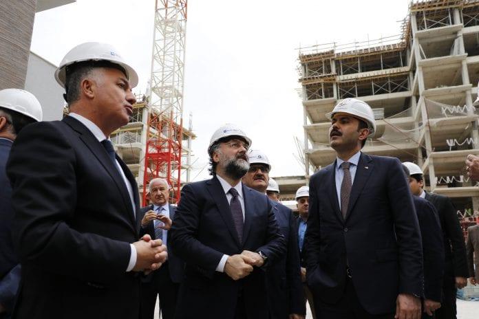 Çevre ve Şehircilik Bakanı Murat Kurum, Kepez Santral Dönüşüm Projesi'ni Gezdi
