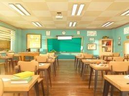 Yıkılan Okul Yeniden İnşa Ediliyor!
