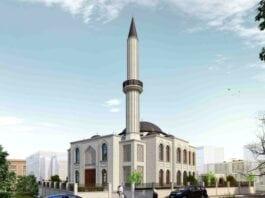 1200 Kişi Kapasiteli Caminin Temelleri Atıldı!